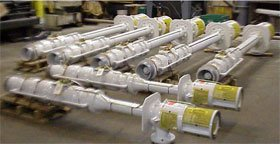 gusher vertical turbine pumps