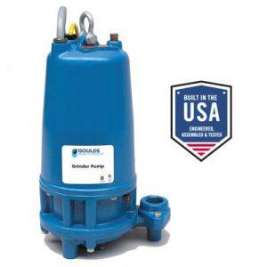 goulds submersible grinder pump