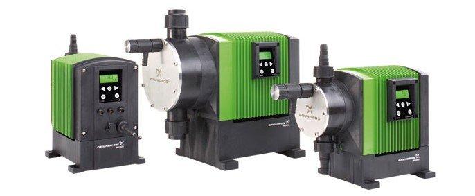 grundfos meter pumps
