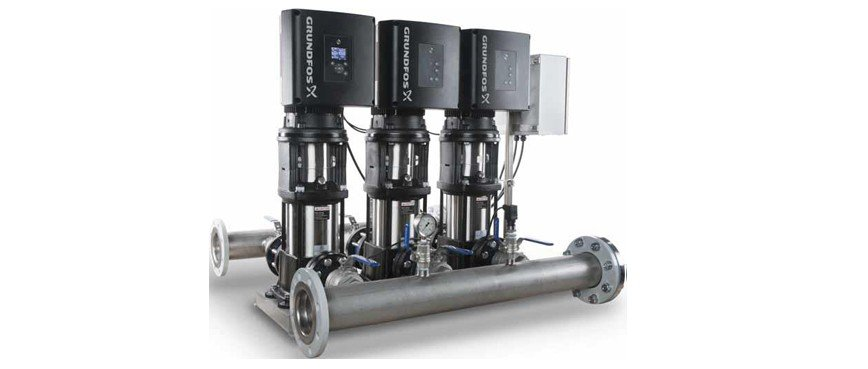 grundfos pump skids