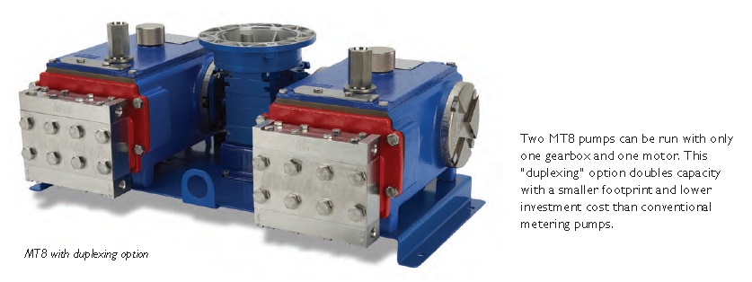 hydra cell mt8 metering pump