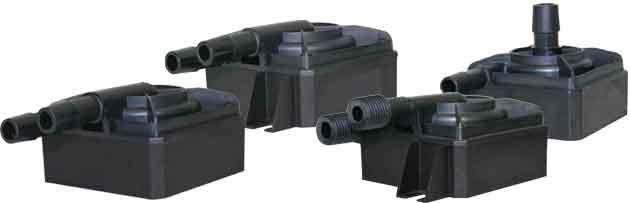 Small direct drive pumps