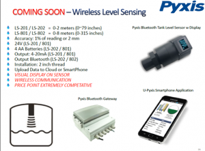 pyxis tanl level sensor